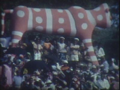 1950 s - 60s - Festa Grande no Dundo