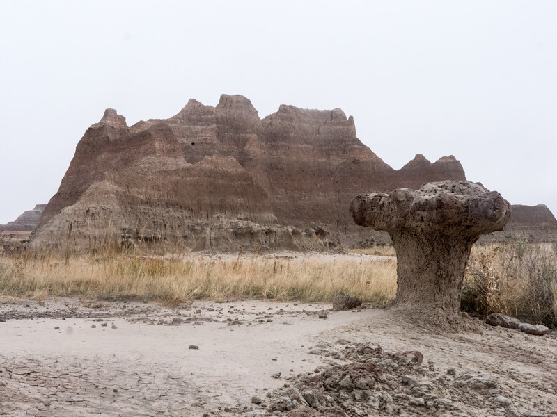 Hoodoo Castle to Fossil Trail Badlands Nat'l Park
