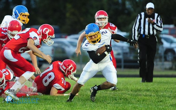 Iola football vs Osawatomie 9/28