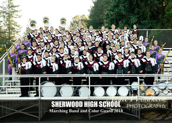 2018 SHS Marching Band and Color Guard