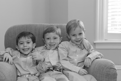 Roth Family 2011 Black and White