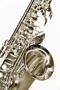 Saxophones Black and White Fine Art Photographs