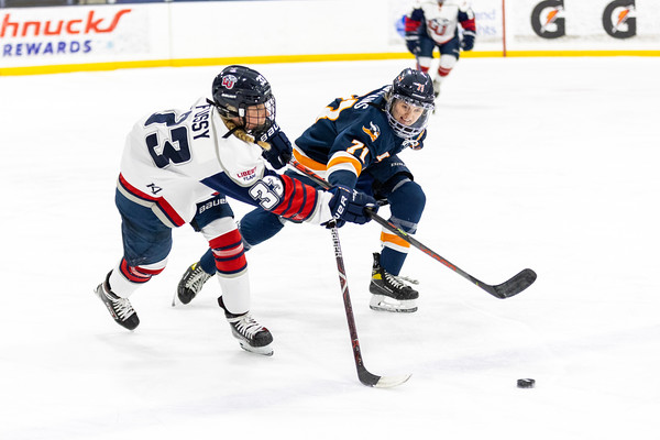 Women's Ice Hockey: Liberty vs Midland