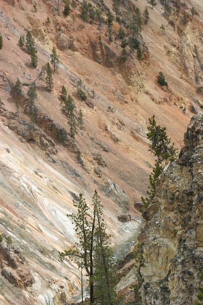 bottom of gorge