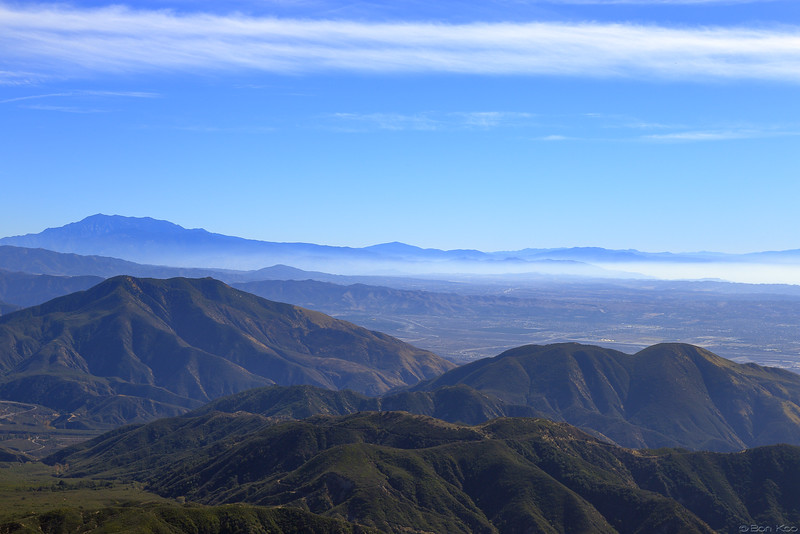 A view of San Bernardino from Arrowhead