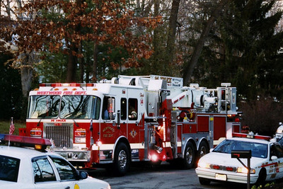 Woodcliff Lake 3rd alarm House Fire 2005
