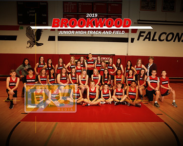 Brookwood JH track and field TF19