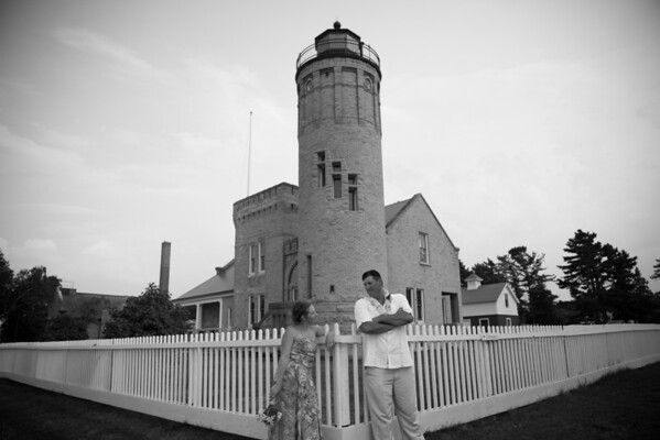 Tiffany & Rick | Mackinaw City Lighthouse Wedding Photography
