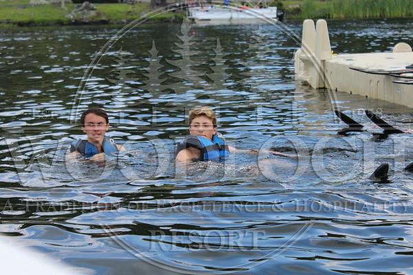 July 15 - Waterskiing