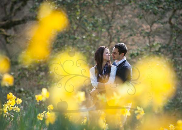 Surrey Pre Wedding Photography - Karen & Damien, Winkworth Aboretum, Godalming