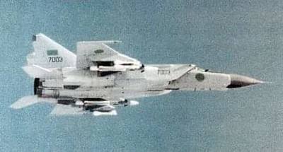 Mig 25 Foxbat..Soviet Supersonic interceptor ...