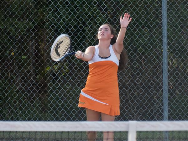 ECHS Tennis versus South Columbus