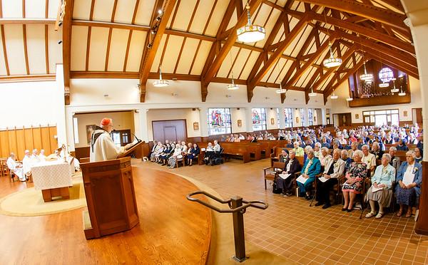 2019 Jubilarian Sisters Mass