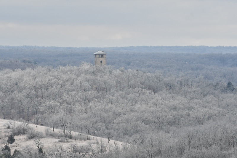 water tower from same location at 300mm