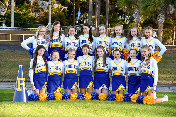 FMS Cheerleaders 2017