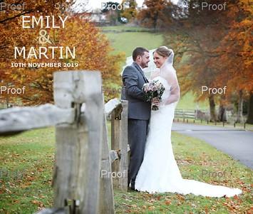 Emily & Martin Album Design
