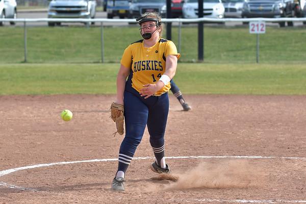 Breckenridge at Vestaburg Girls Varsity softball 5-18-21