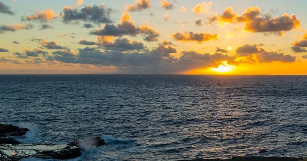 George Hawaii 2016 - Sunrise to North Shore