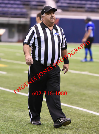 8-26-16 - Kingman Academy v Bourgade High School Football Game - at NAU Classic