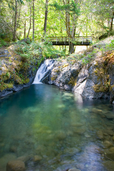 The swimming hole at the upstream end of Paradise Bar is worth visiting on a hot summer day.