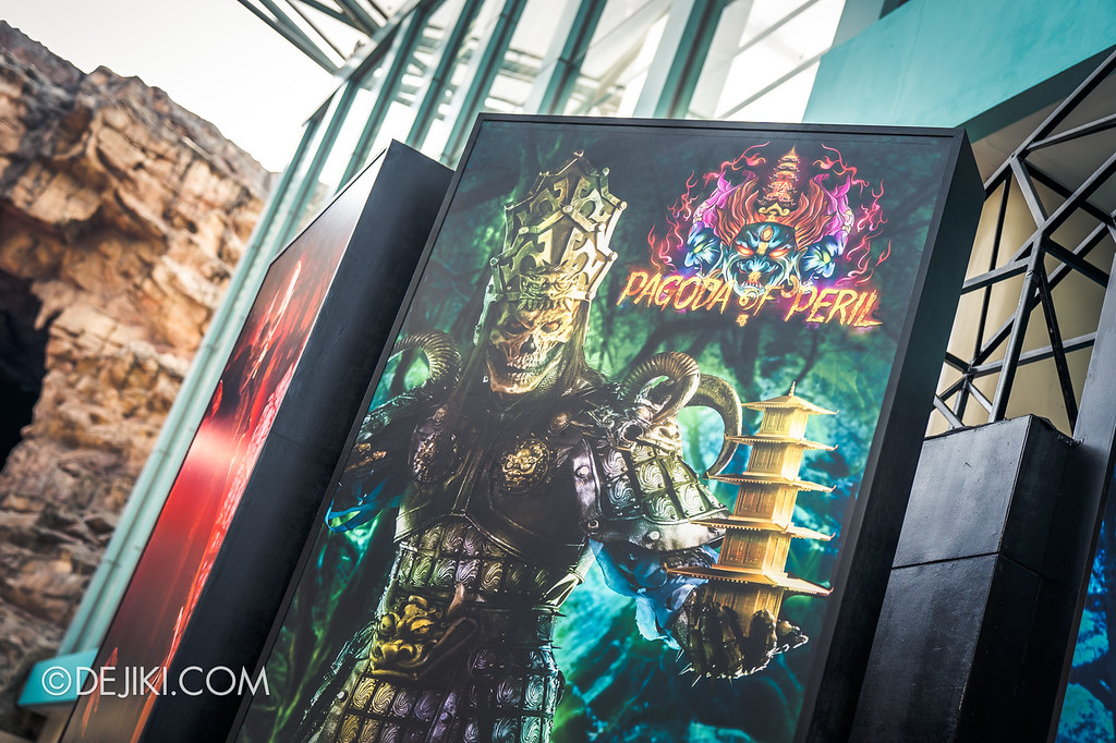 Universal Studios Singapore Halloween Horror Nights 8 / Entrance Arch Characters Yin Demon Pagoda of Peril