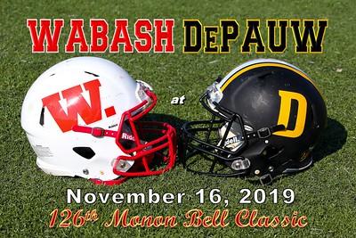 2019 Wabash at DePauw (11-16-19)