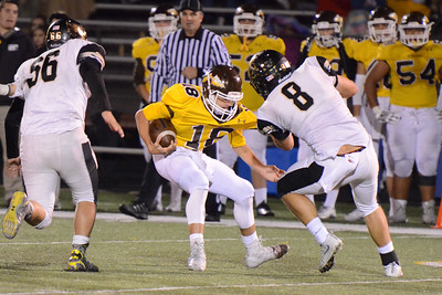 Football - LHS 2016 - Kickapoo