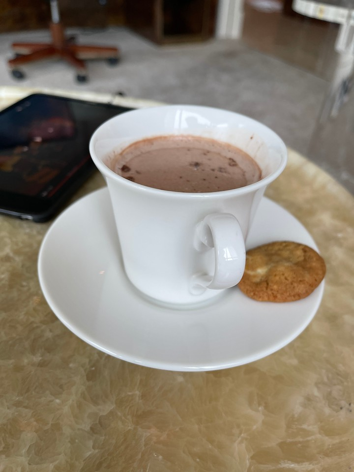 Hot Chocolate for my son