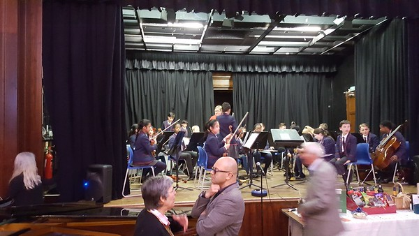 Suleman Chigwell Rotary Youth Music event