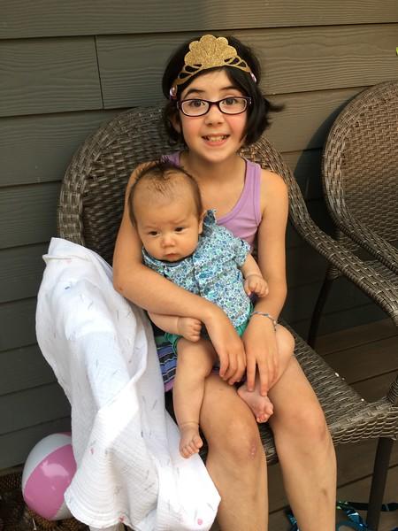Hannah and Baby Logan!