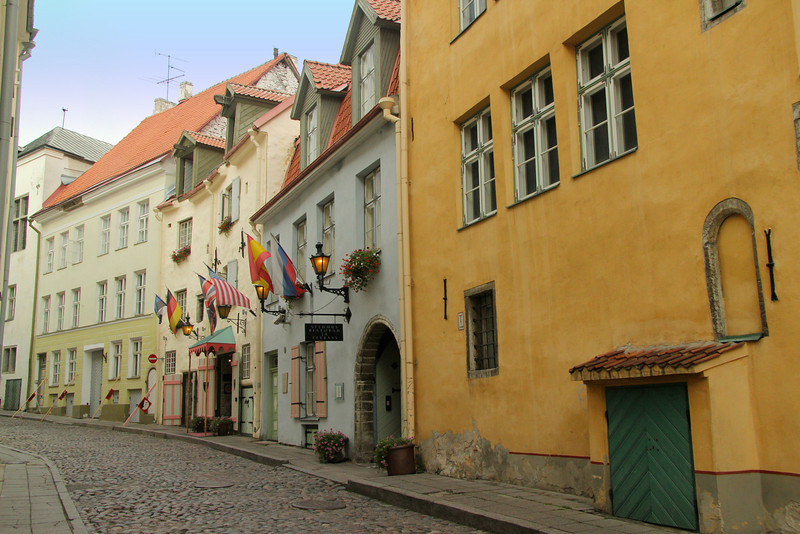 Old Town -Tallinn, Estonia