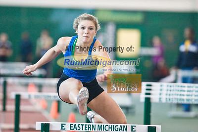 Sprints and Hurdles - 2012 USATF Michigan Indoor Track & Field Championships