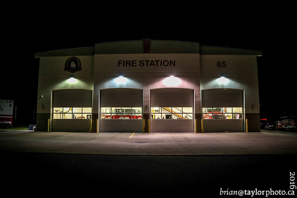 Training night , Station 65