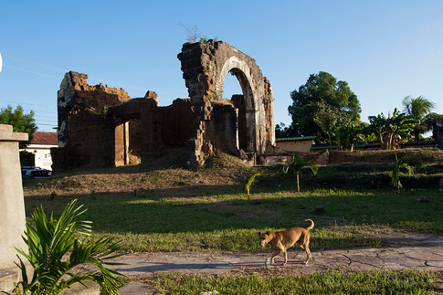 Ruins of the San Sebastian church