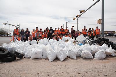 El Dorado High School Trash Pick Up