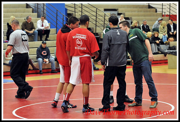 Wrestling - Ocean Varsity vs RBC  Jan 2013