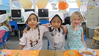 PCR Kindergartners Celebrate Turkey Day