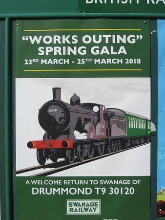 Swanage Spring Steam Gala 2018