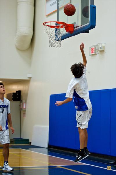 JV Basketball vs. Warner Christian Academy-December 14, 2010