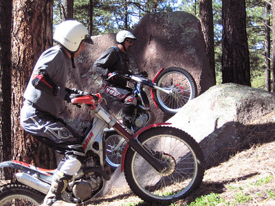 Jemez Mtns. - Lake Fork Canyon Trials Practice  9-30-07