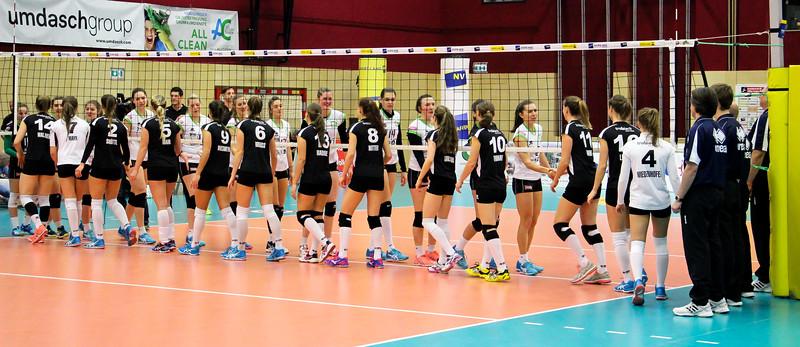 CUP FINAL FOUR 2017 - ET Volley vs UVC Graz (Damenfinale)