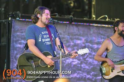 Bands - Gavin DeGraw and Matt Nathanson Live @ The St Augustine Ampitheatre