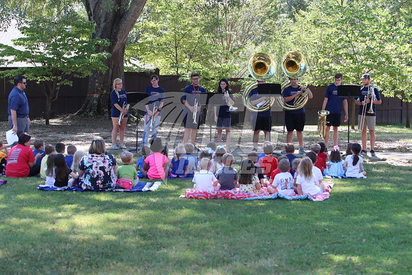 ICC Band plays Nursery Rhymes