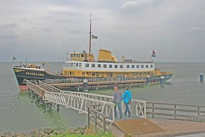 Enkhuizen to Medemblik on the Friesland
