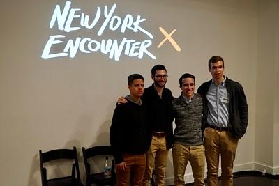Stephen Adubato Presentation at New York Encounter--January 14, 2017