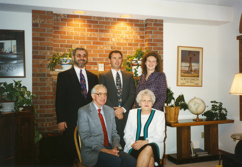 Cecil Ralph Family at 40th Wedding Anniversary 1995
