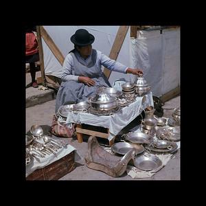 La Paz, Bolivia - Witches' Market and Black Market 1966