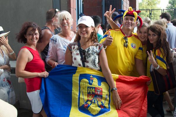 US Open 2015 Simona Halep sees off Victoria Azarenka, September 9, 2015 - September 9, 2015
