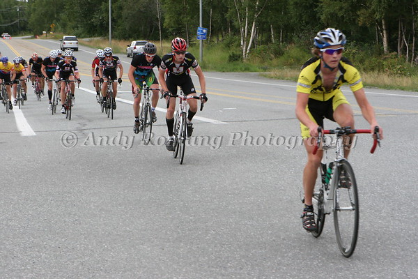 Tour of Anchoage Stage 4 Glen Alps Hill Climb