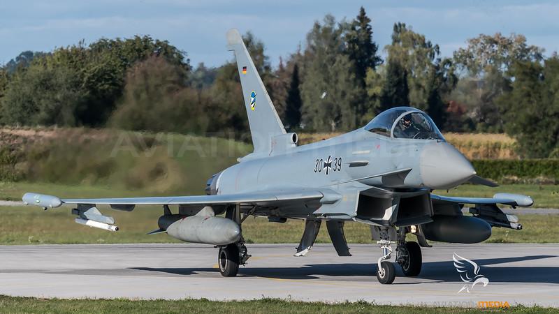 German Air Force TLG74 / Eurofighter Typhoon / 30+39